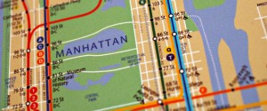 A map of the New York City subway with the addition of the 2